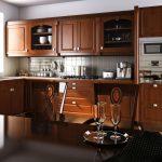 מטבח מודרני מעץ דגם Dark Chocolate